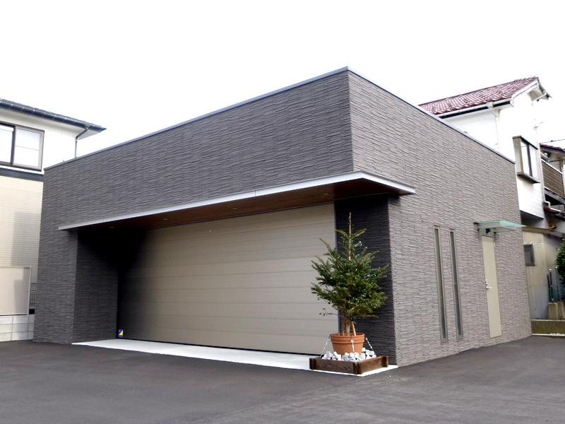 K様車庫新築工事
